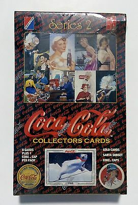 1994 Collect-A-Card COCA-COLA series 2 card box from a sealed case