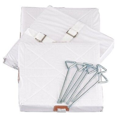(38cm  by 38cm  by 5.1cm ) - Champion Sports Foam Filled Quilted Cover Base Set