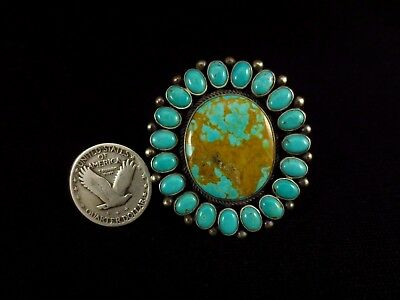 Navajo Ring - Sterling Silver and Turquoise