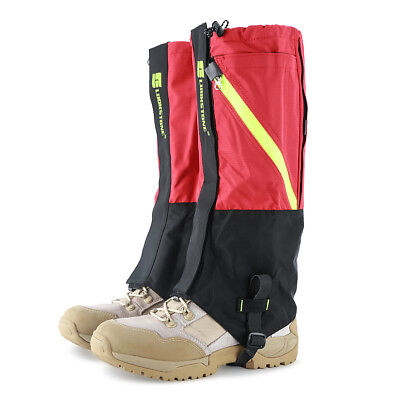 Waterproof Outdoor Climbing Hiking Snow Ski Gaiters Shoe Leg Cover Boot Legging