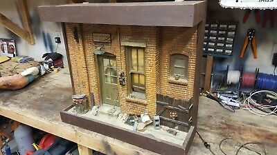 1975 Original Michael Garman City Scape Sculpture leroy & berthas Bar and Grill