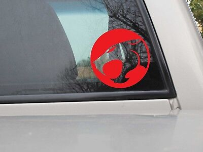 Thundercats Logo Vinyl Decal - Thundercats Sticker - You Choose Size & Color
