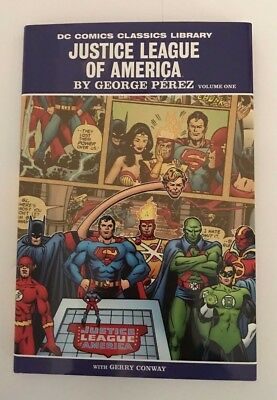DC Comics Classics Library Justice League of America by George Perez