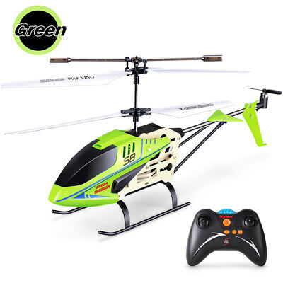 Syma S8 Metal Radio 3CH Remote Control Drone RC Helicopter Christmas Gift Green