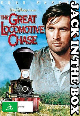 The Great Locomotive Chase DVD NEW, FREE POSTAGE WITHIN AUSTRALIA REGION ALL