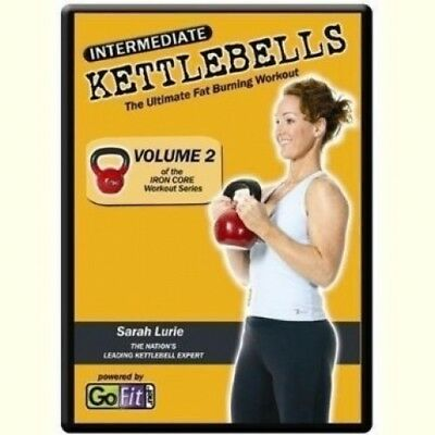 (Level 2) - Go Fit Ironcore Kettlebell Training DVD. GoFit. Delivery is Free