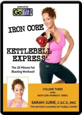 (Level 3) - Go Fit Ironcore Kettlebell Training DVD. GoFit. Delivery is Free