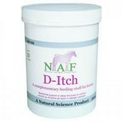 (500g) - Natural Animal Feeds NAF D-Itch. Delivery is Free