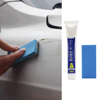 25g Car Body Scratch Repair Wax Paint Scar Remover Paste With Sponge Brush Tool