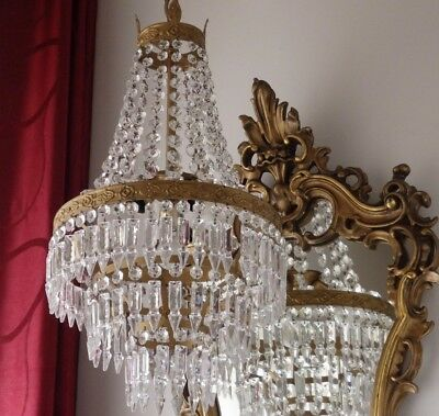 Antique Italian Chandelier - Restored And Rewired