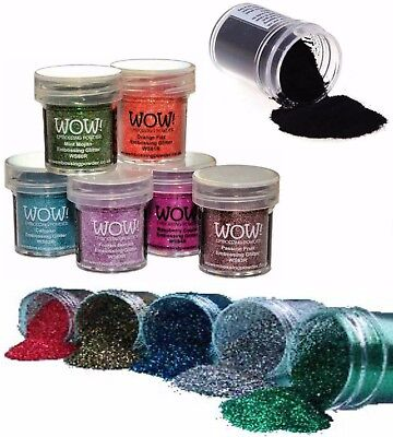 Wow Embossing Powder 15Ml Pot Primary Colours 20% Off When You Buy 2 Or More