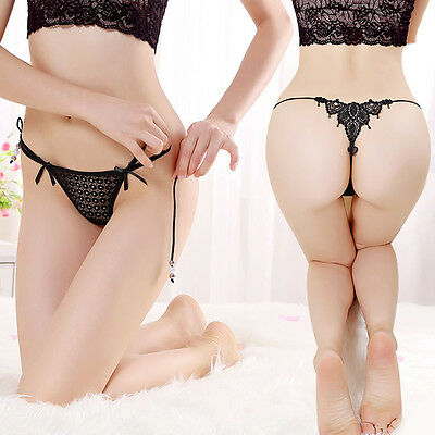Sexy Lace Knickers Panties Lingerie Briefs Thongs G-string Underpants Modern