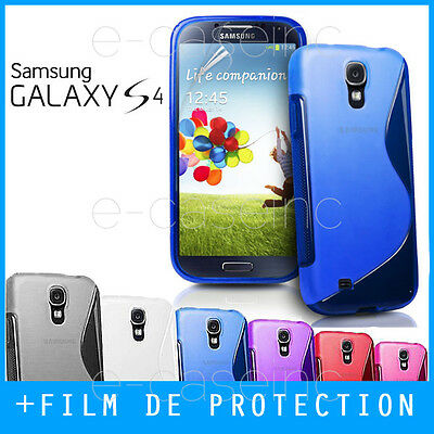 COQUE HOUSSE CASE GEL SILICONE S LINE pour SAMSUNG GALAXY S4