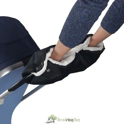 Baby Pram Stroller Hand Muff - Waterproof Fingerless Gloves Warmer Winter Jogger