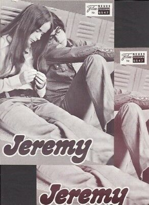 NFP Neues Filmprogramm  6547 Jeremy - Robby Benson, Glynnis O'Conner