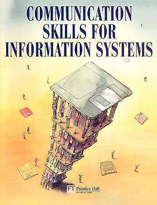 Communication Skills for Information Systems, Warner, Tony, Used; Good Book