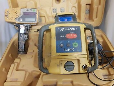 Topcon RL-H4C Db Rotary Level Construction Laser