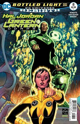Hal Jordan and the Green Lantern Corps #8 (Rebirth) 1st Print DC Comics
