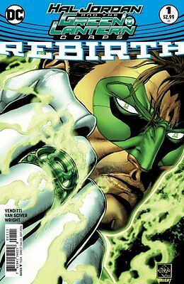 Hal Jordan and the Green Lantern Corps Rebirth #1 1st Print DC Comics