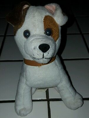 "Wishbone Dog 6"" Stuffed Animal Toy 1999 Big Feats Jack Russell Terrier PBS"