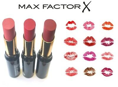 Max Factor Lipfinity Lipsticks *choose Your Colour* New & Sealed