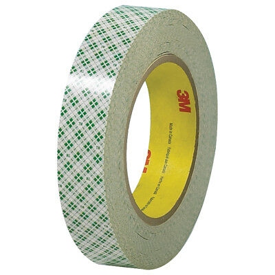 """3M Double Sided Masking Tape 6.0 Mil 1"""" x 36 yds. Off White 3/Case T9554103PK"""