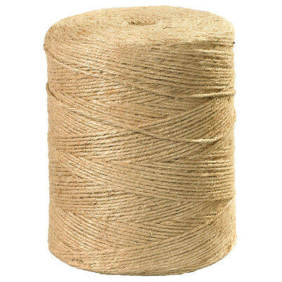 Box Partners Jute Twine 5-Ply 140 lb Natural 3000'/Case TWJ300
