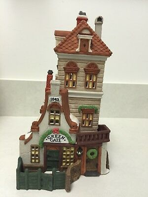 "Department 56 "" Green Gate Cottage"" Dickens' Village Series Limited Edition - Ob"