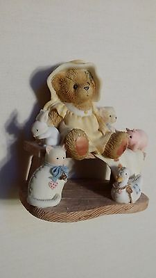 """Cherished Teddies """"Lucille"""" Friends Like You Are Cherished And Few/2001"""