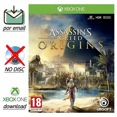 Assassin's Creed Origins Xbox One - Microsoft Full Game Download Code por email