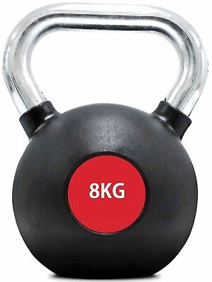 (8 Kgs) - Kemket Kettle Bell Weight – Choose Weight option from 4kg to 32kg-,