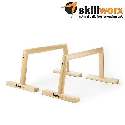 (Parallettes Large | Raw) - skillworx Parallettes - Parallette bars made of