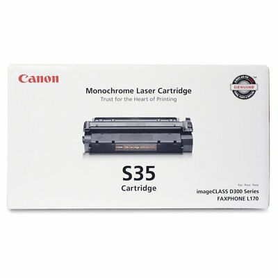 Canon S35 Original Toner Cartridge - Laser - 3500 Pages - Black - 1 Each