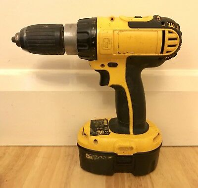 dewalt dc721 18v cordless drill driver eur 20 39 picclick it. Black Bedroom Furniture Sets. Home Design Ideas