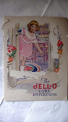 Charming Vintage Jell-O Girl Cook Book - 1920's
