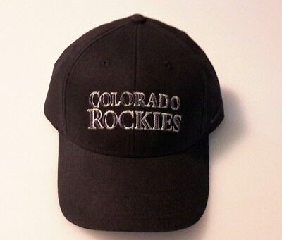 3242edde201 Colorado Rockies MLB Nike Team Sports Reflective Baseball Cap Hat Onesize