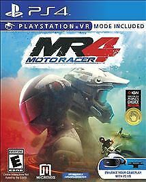 Moto Racer 4  (Sony PlayStation 4, 2017)  Complete   Fast Shipping !  Ps4  PSVR