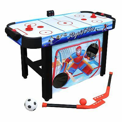 Rapid Fire 42 inch 3-in-1 Air Hockey Multi-Game Table