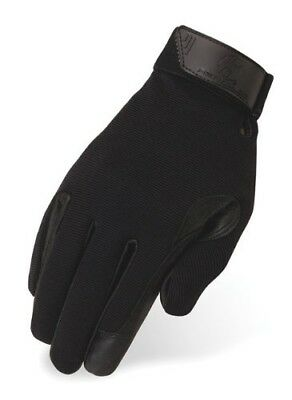 (Adult 11, Black) - Heritage Tackified Performance Glove. Heritage Gloves
