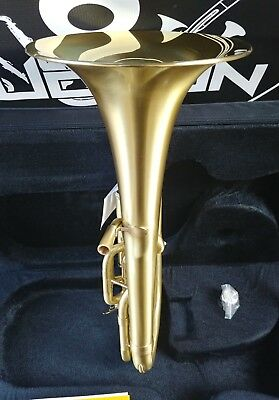 New Edition: John Packer 072 Satin/ Lacquer Bell Eb Alto Horn - Student