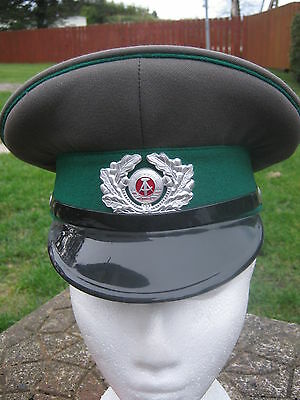 Army Surplus East German Officers Visor Hat NEW Size Small 55