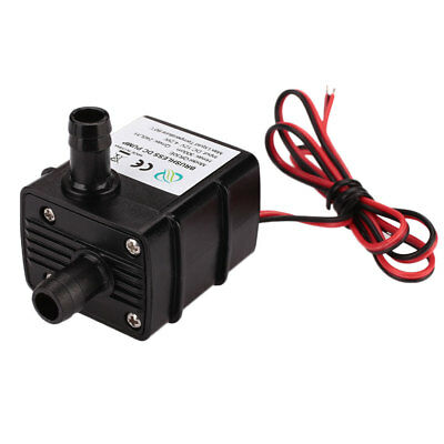 DC 12V Ultra Quiet Cold Water Circulation Fountain Water Pump Pumpsfilter Black