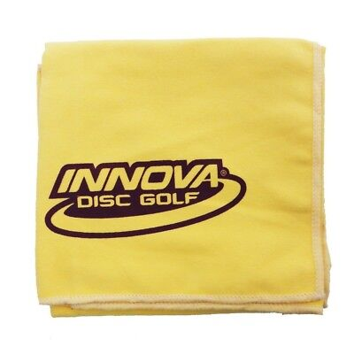 (Yellow) - Innova DewFly Microsuede Disc Golf Towel. Brand New