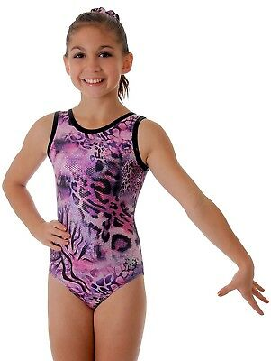 (Adult Medium (gymnastics sizing)) - Amethyst Gymnastics Leotard