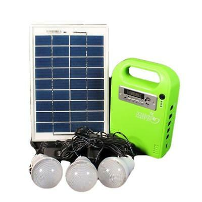 FREELEC POWER KIT SOLAR LED's RADIO USB CHARGER CARAVAN PARTS GREEN ENERGY BATTE