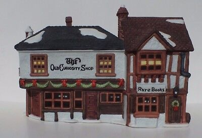 Dept 56 The Old Curiosity Shop  5905-6 Heritage Dickens Christmas Village Series