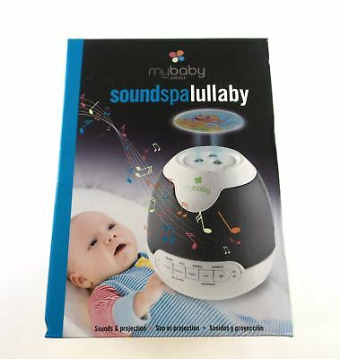 HoMedics myBaby Soundspa Lullaby Sounds and Projector 6 Soothing Sounds MYB-S305