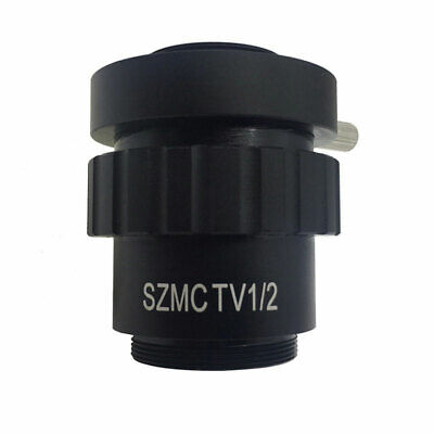 Stereo Microscope 0.5X 1/2CTV CCD Camera Interface CMount Adapter Lens SZMCTV1/2