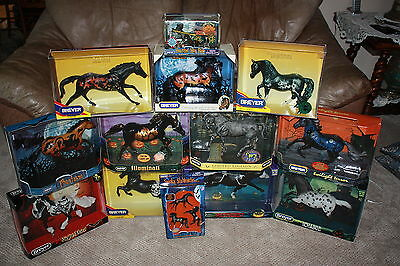 HUGE LOT of 13  Breyer HALLOWEEN HORSES New in Box  Cryptic Nosferatu Ichabod