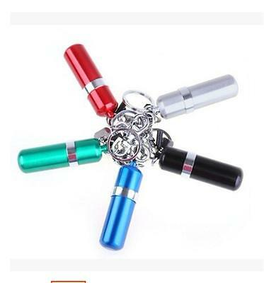 Newest Portable Stainless Steel Alcohol Burner Lamp With Keychain Keyring  P&T